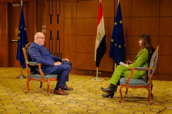 European Union Commissioner Visit