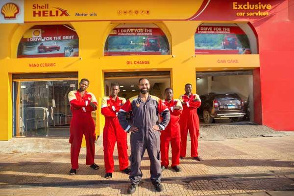 Shell Branded Shops
